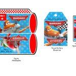 Kit Imprimible cumple Aviones nino 06