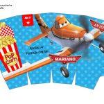 Kit Imprimible cumple Aviones nino 07