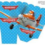 Kit Imprimible cumple Aviones nino 08
