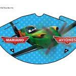 Kit Imprimible cumple Aviones nino 16