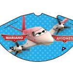 Kit Imprimible cumple Aviones nino 17
