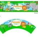 Kit Imprimible cumple animalitos de la selva 07