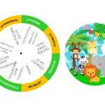 Kit Imprimible cumple animalitos de la selva 11
