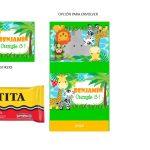 Kit Imprimible cumple animalitos de la selva 14