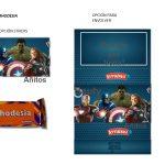 Kit Imprimible cumple avengers 03