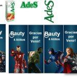 Kit Imprimible cumple avengers 23