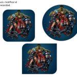 Kit Imprimible cumple avengers 25