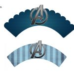 Kit Imprimible cumple avengers 27