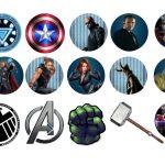 Kit Imprimible cumple avengers 28