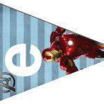 Kit Imprimible cumple avengers 31