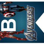 Kit Imprimible cumple avengers 41