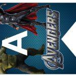 Kit Imprimible cumple avengers 42