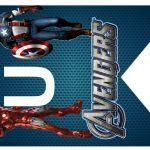 Kit Imprimible cumple avengers 43