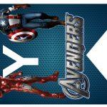 Kit Imprimible cumple avengers 45
