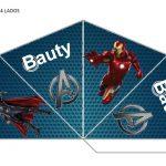 Kit Imprimible cumple avengers 49