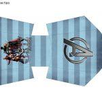 Kit Imprimible cumple avengers 50