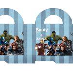 Kit Imprimible cumple avengers 51