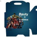Kit Imprimible cumple avengers 53