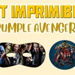 Kit Imprimible de Avengers para Cumpleaños