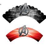 Kit Imprimible cumple avengers modelo 2 01