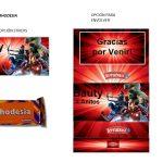 Kit Imprimible cumple avengers modelo 2 03