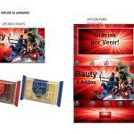 Kit Imprimible cumple avengers modelo 2 04
