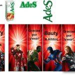 Kit Imprimible cumple avengers modelo 2 23