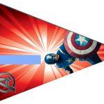Kit Imprimible cumple avengers modelo 2 31