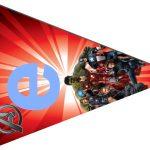 Kit Imprimible cumple avengers modelo 2 39