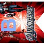 Kit Imprimible cumple avengers modelo 2 40
