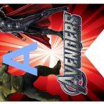 Kit Imprimible cumple avengers modelo 2 41