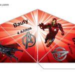 Kit Imprimible cumple avengers modelo 2 49