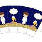 Kit Imprimible dorado comunion 02