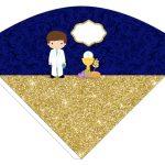 Kit Imprimible dorado comunion 03