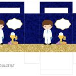 Kit Imprimible dorado comunion 04
