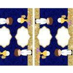 Kit Imprimible dorado comunion 06