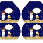 Kit Imprimible dorado comunion 08