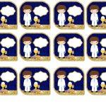 Kit Imprimible dorado comunion 10