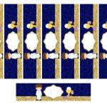 Kit Imprimible dorado comunion 11