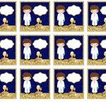 Kit Imprimible dorado comunion 12
