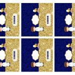 Kit Imprimible dorado comunion 13