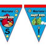 banderin Angry Birds Modelo 2 para cumple 06