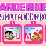 Banderines de Aladdin Bebe para Cumpleaños