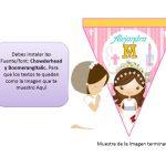 banderines primera comunion girl 01