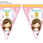 banderines primera comunion girl 05