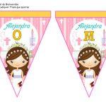 banderines primera comunion girl 07