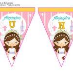 banderines primera comunion girl 08
