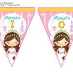 banderines primera comunion girl 09