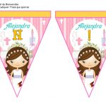banderines primera comunion girl 10