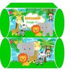 cajitas animalitos de la selva cumple 01